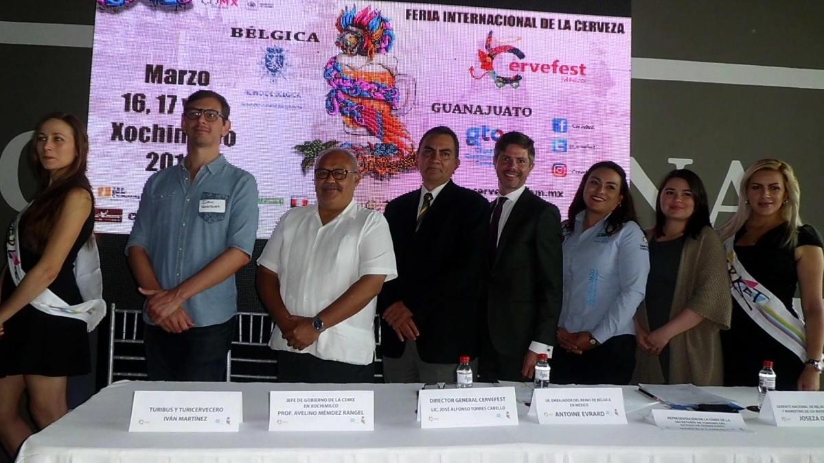 Anuncian la 7ª edición del Cervefest 2018 a celebrarse en Xochimilco